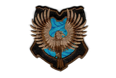 Harry Potter Patch - Ravenclaw House Crest - Embroidered Iron-on Patch or Applique