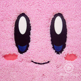 Kirby Bath Mat or Rug - Geeky Embroidered Video Game Bathroom or Kitchen Decor