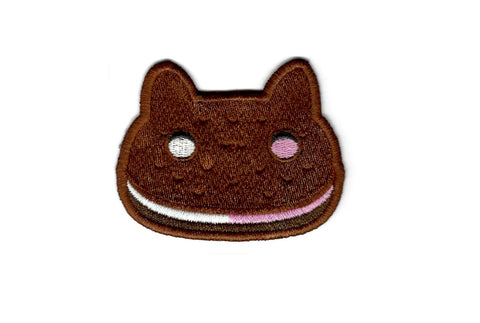 Steven Universe Patch - Cookie Cat - Embroidered Geeky Iron on Patch