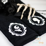 Nightmare Before Christmas Hand Towel Set - His and Hers - Jack Skellington & Sally