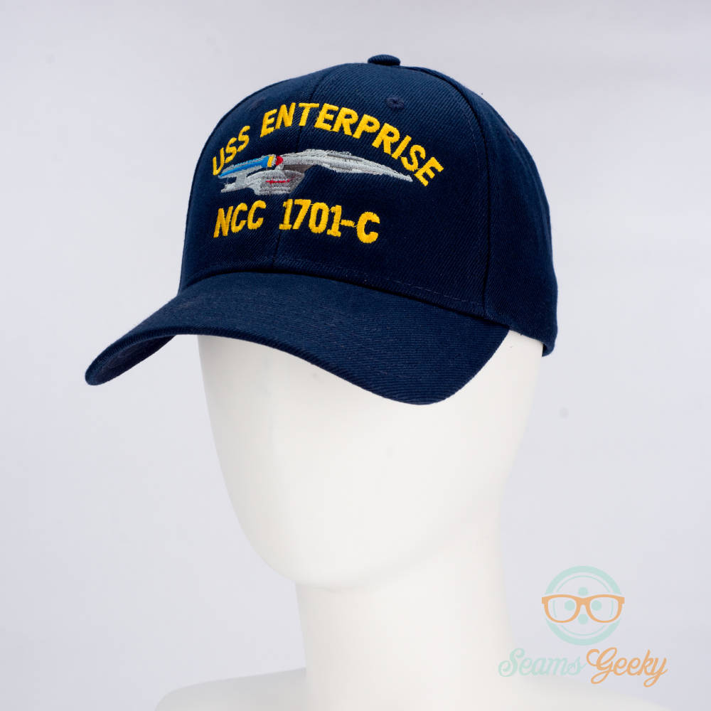 1efd53c37b Star Trek Hat - The Next Generation TNG - USS Enterprise 1701-C - Naval ...