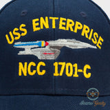 Star Trek Hat - The Next Generation TNG - USS Enterprise 1701-C - Naval Baseball Cap