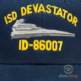 Star Wars Hat - ISD Devastator - Darth Vader Star Destroyer - Naval Baseball Cap