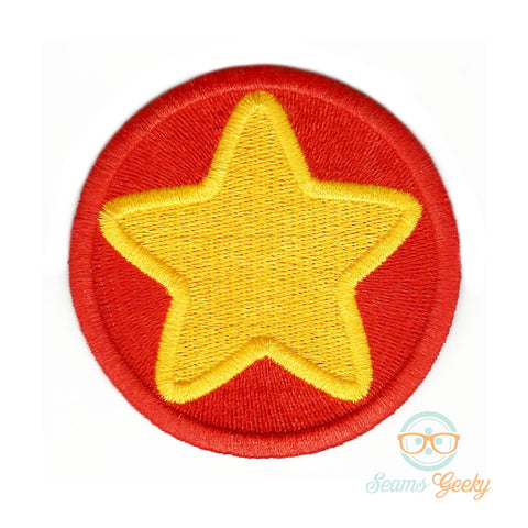 Steven Universe Patch - Steven Star Shirt - Geeky Embroidered Iron on Patch or Applique