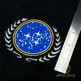 Star Trek Hand Towel - United Federation of Planets - Embroidered Geeky Bathroom Towel