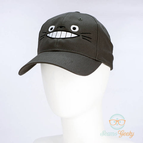 My Neighbor Totoro Hat - Geeky Embroidered Anime Baseball Cap (One Size)