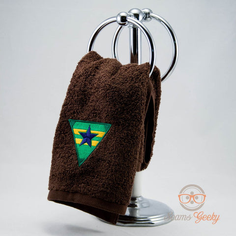 Firefly Serenity Hand Towel - Browncoats - Embroidered Geeky Bathroom Towel or Kitchen Decor