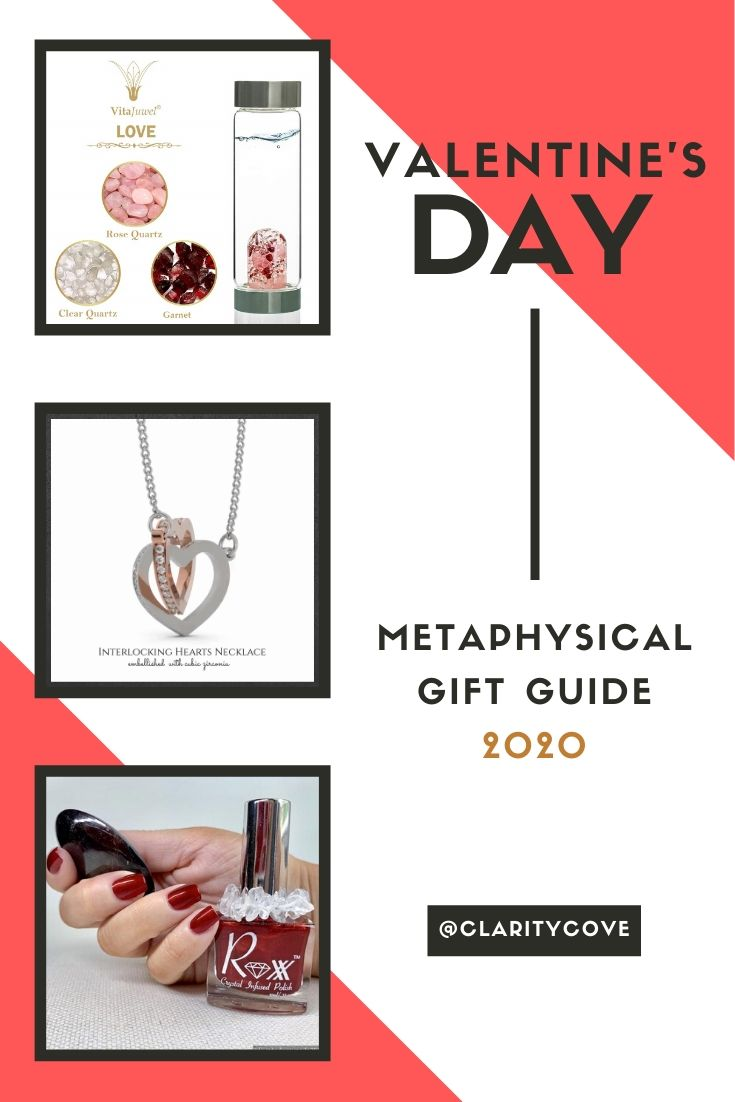 11 Metaphysical and Lovey Gifts for your Valentines on V-Day! Gift Guide Recommendations from Clarity Cove for 2020