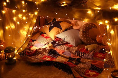 Blankets Forts - The Original 'Clarity Coves' for Kids and Grown-Up Kids!