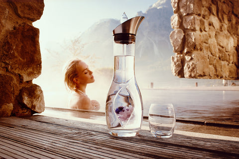 vitajuwel era wellness decanter gemwater