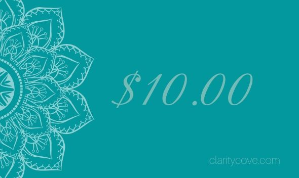 Clarity Cove Gift Cards from $10 to $1000 | Gift Certificate Voucher Coupon - claritycove.com