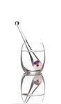 Travel Size VitaJuwel Gemstone Droplet Vial Crystal Infused Water or Wine - claritycove.com
