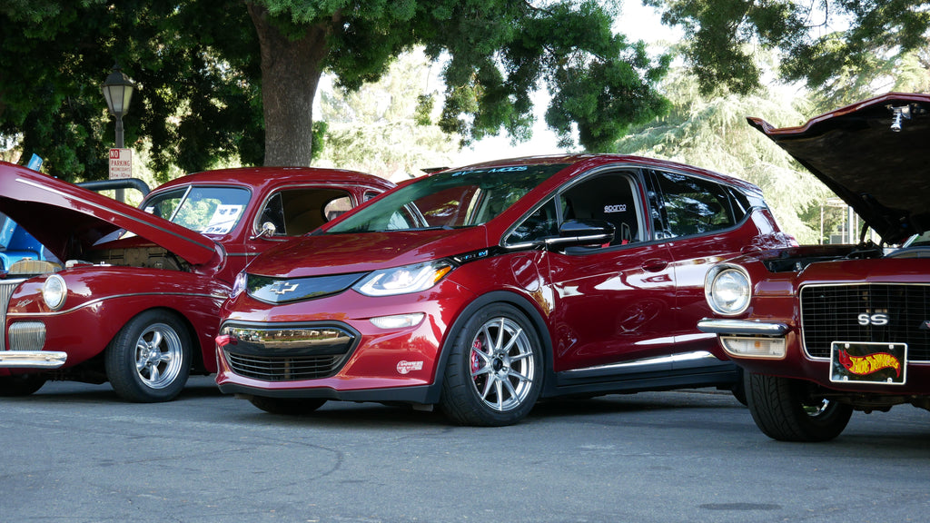 Chevy Bolt EV Best Daily Driver @ Car Show