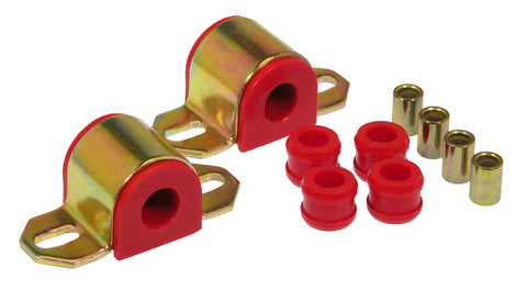 Prothane 84-96 Chevy Corvette Rear Sway Bar Bushings - 19mm - Red - 7-1142