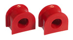 Prothane 92-96 Honda Prelude Front Sway Bar Bushings - 25.4mm - Red - 8-1130