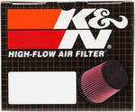 K&N Universal Chrome Filter Round Tapered 4.5in Base OD / 3.5in Top OD / 4.75in Height - RC-4890