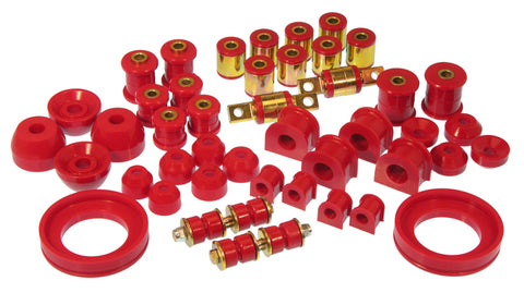 Prothane 90-93 Honda Accord Total Kit - Red - 8-2013