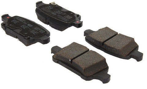 Chevy Bolt Posi-Quiet Ceramic Brake Pads with Shims and Hardware