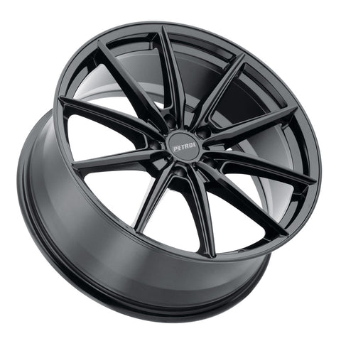Chevy Bolt EV Wheels Gloss Black Petrol P4B 17x8 5x105 et40