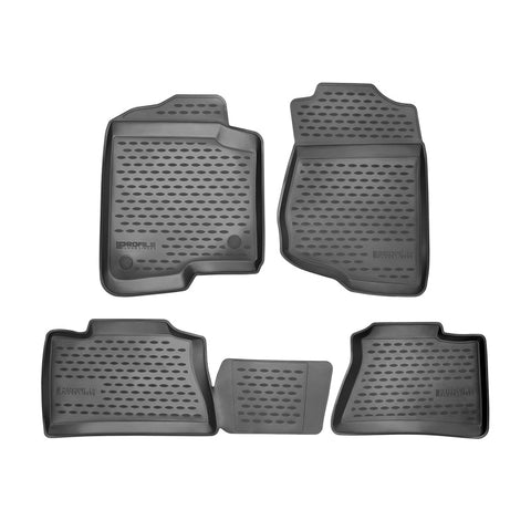 Westin 2014-2017 Kia Soul Profile Floor Liners 4pc - Black - 74-22-41044
