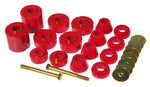 Prothane 75-79 GM 1/2 / 3/4 / 1T 2/4wd Body Mount - Red - 7-135