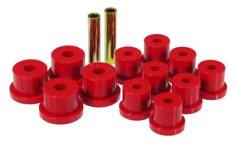 Prothane 67-69 Chevy Camaro Rear Mono Leaf Bushings - Red - 7-1010