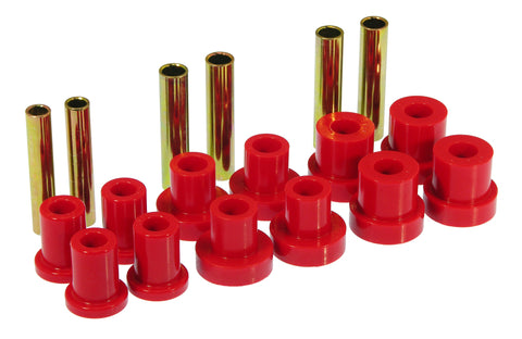Prothane 88-91 Chevy Blazer/Suburban 4wd Front Spring Bushings - Red - 7-1024