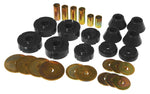 Prothane 73-80 Chevy C10 Body Mount Kit - Black - 7-102-BL