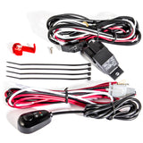 ANZO 12V Wiring Kit Universal 12V Auxiliary Wiring Kit w/ Illuminated Switch - 851062