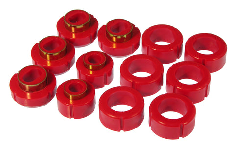 Prothane 82-04 GM 2/4wd S-Series Std Cab Body Mount - Red - 7-115