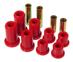 Prothane 01-07 Chevy 1500HD Front Control Arm Bushings - Red - 7-237