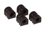 Prothane 10-11 Chevy Camaro Front/Rear Sway Bar Bushings - 28mm - Black - 7-1192-BL