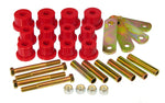 Prothane 62-67 Chevy Nova HD Spring & Shackles Bushings - Red - 7-1056