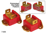 Prothane GM Motor Mounts - Type B Tall - Red - 7-505