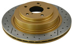 DBA 03-05 350Z / 03-04 G35 / 03-05 G35X Front Drilled & Slotted Street Series Rotor - 954X