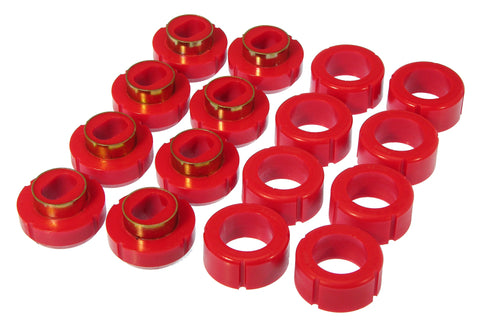 Prothane 81-91 GM Crew 2/4wd Cab Mount - Red - 7-111