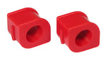 Prothane 97-04 Chevy Corvette Front Sway Bar Bushings - 32mm - Red - 7-1177