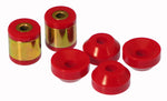 Prothane 96-00 Honda Civic Upper/Lower Rear Shock Bushing - Red - 8-904