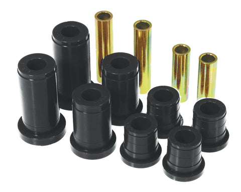 Prothane 88-98 Chevy K10/20/30 4WD PU Control Arm Bushings - Black - 7-206-BL