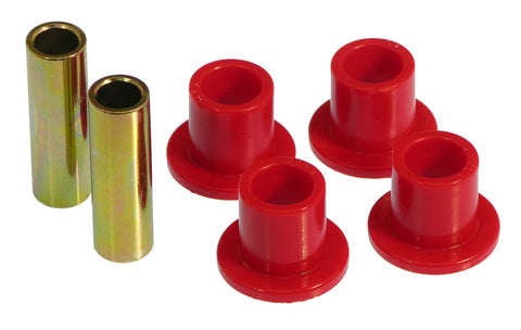Prothane 61-68 International Scout 80/800 Shackle Bushings - Red - 9-802
