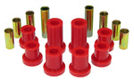 Prothane 07-14 Chevy Silverado 2/4wd Upper/Lower Front Control Arm Bushings - Red - 7-243