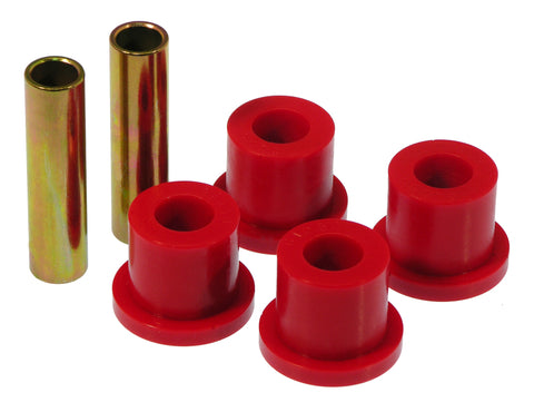 Prothane 88-98 GM 2/4wd Rear Frame Shackle Bushings - Red - 7-805