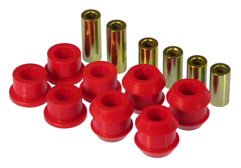 Prothane 90-93 Acura Integra Front Upper/Lower Control Arm Bushings - Red - 8-206
