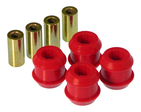 Prothane 92-95 Honda Civic/Del Sol Front Upper Control Arm Bushings - Red - 8-211