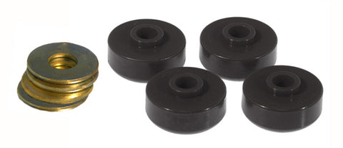 Prothane 84-96 Chevy Corvette Rear Spring Cushions - Black - 7-1020-BL