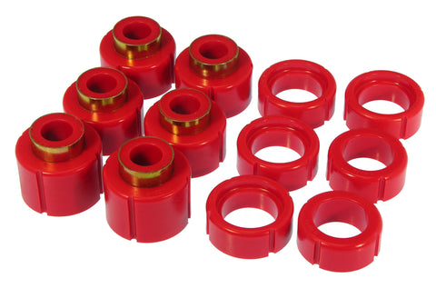 Prothane 88-98 GM Std Cab 2/4wd Cab Mount - Red - 7-112