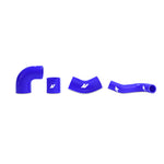 Mishimoto Mitsubishi Lancer Evolution 7/8/9 BLUE Upper Intercooler Pipe Kit - MMICP-EVO-01UBL