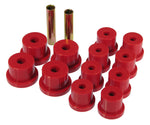 Prothane 62-67 Chevy Nova Mono Leaf Spring Bushings - Red - 7-1018