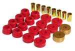Prothane 73-82 Chevy Corvette Body Mount Kit - Red - 7-133