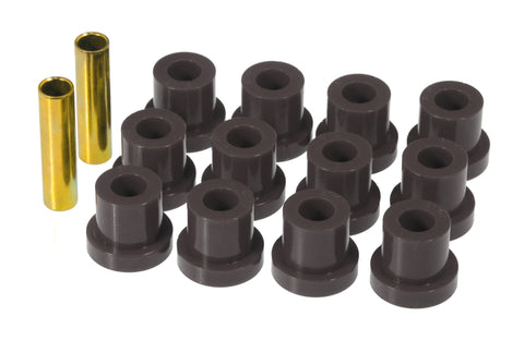 Prothane 55 Chevy Full Rear Spring Bushings - Black - 7-1022-BL